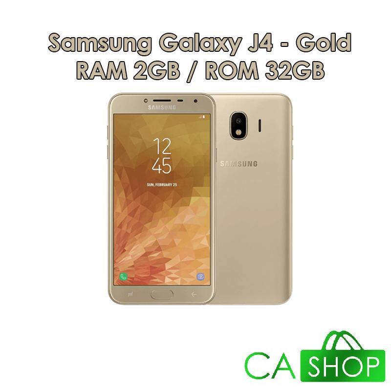 Samsung Galaxy J4 J400 - 2GB 32GB (2/32) - Black / Gold / Purple - Baru NEW - Resmi TAM