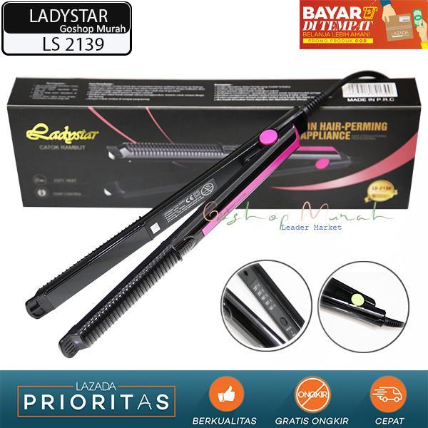 Catokan Pelurus dan Curly LADYSTAR LS 2139 2 in 1   Catok Temperatur  Control   Original 1cc2376e25