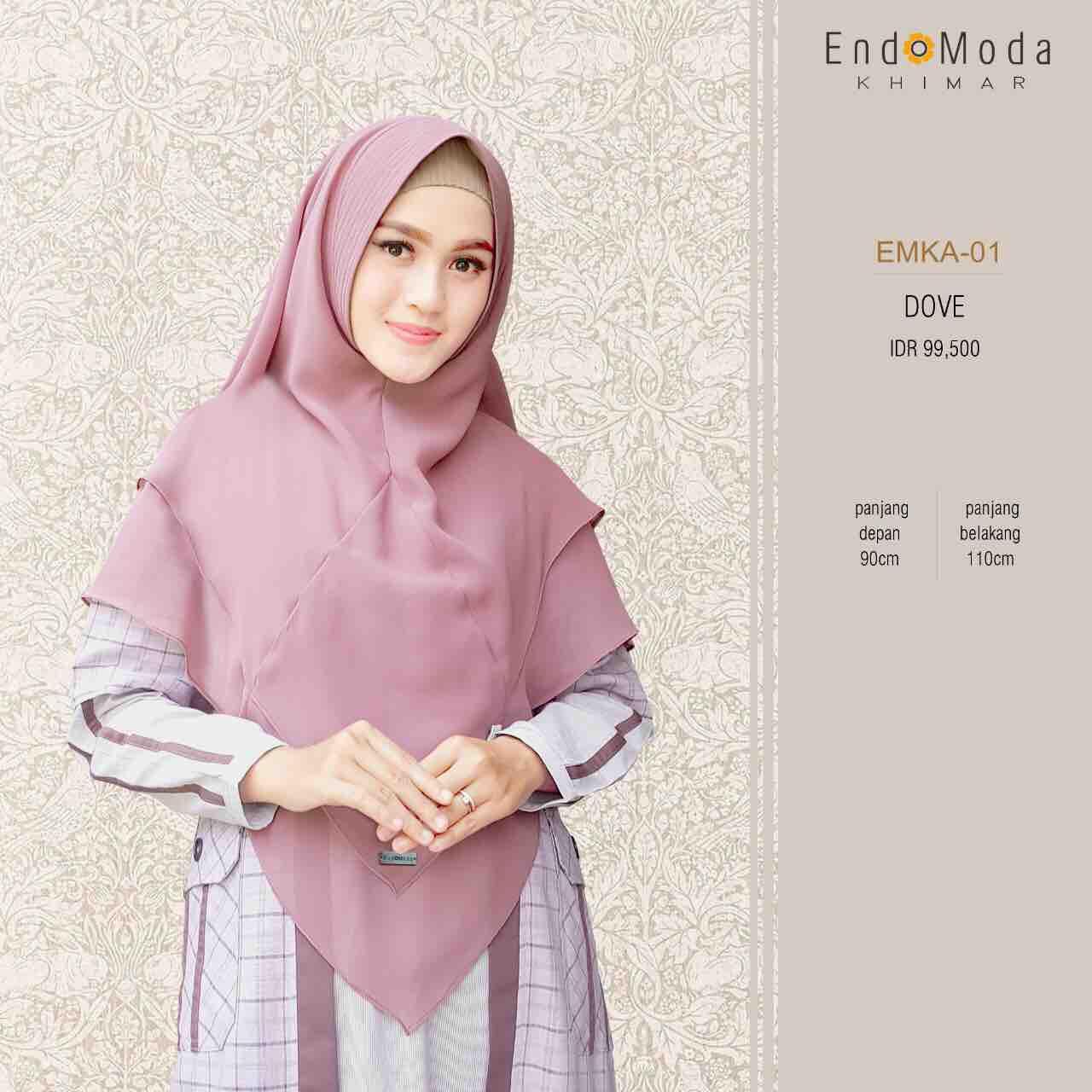 Khimar Kerudung Endomoda All Color Terbaru Dan Cantik Lazada Indonesia