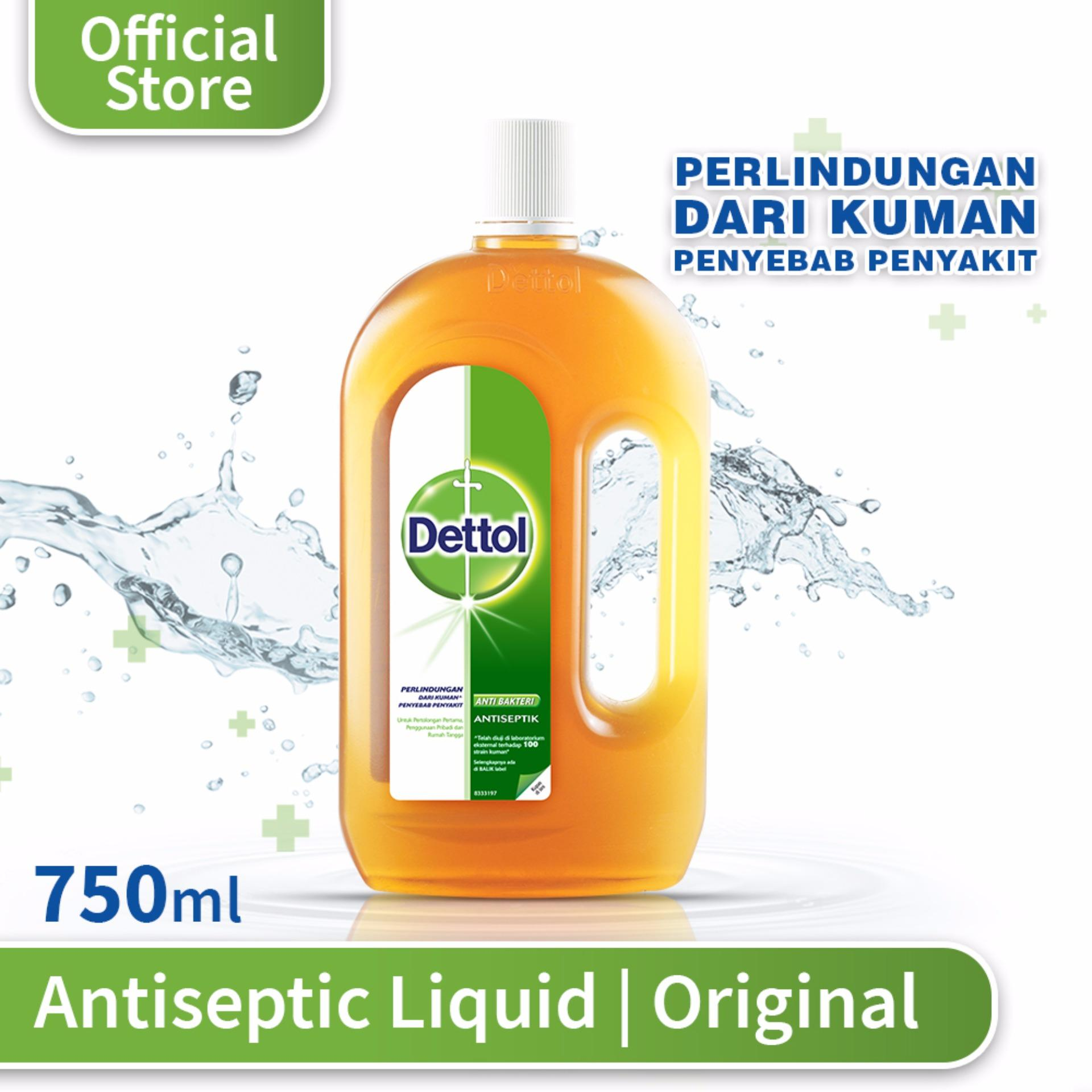 Dettol Antiseptic Liquid 750 Ml By Dettol Official Store.