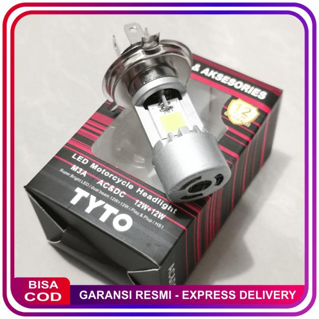COD!! BARU!!LAMPU DEPAN LED HS1 TYTO ASLI VIXION CB150R NMP R15 SCOOPY FI DLL || Lampu Motor || LMtrDB3