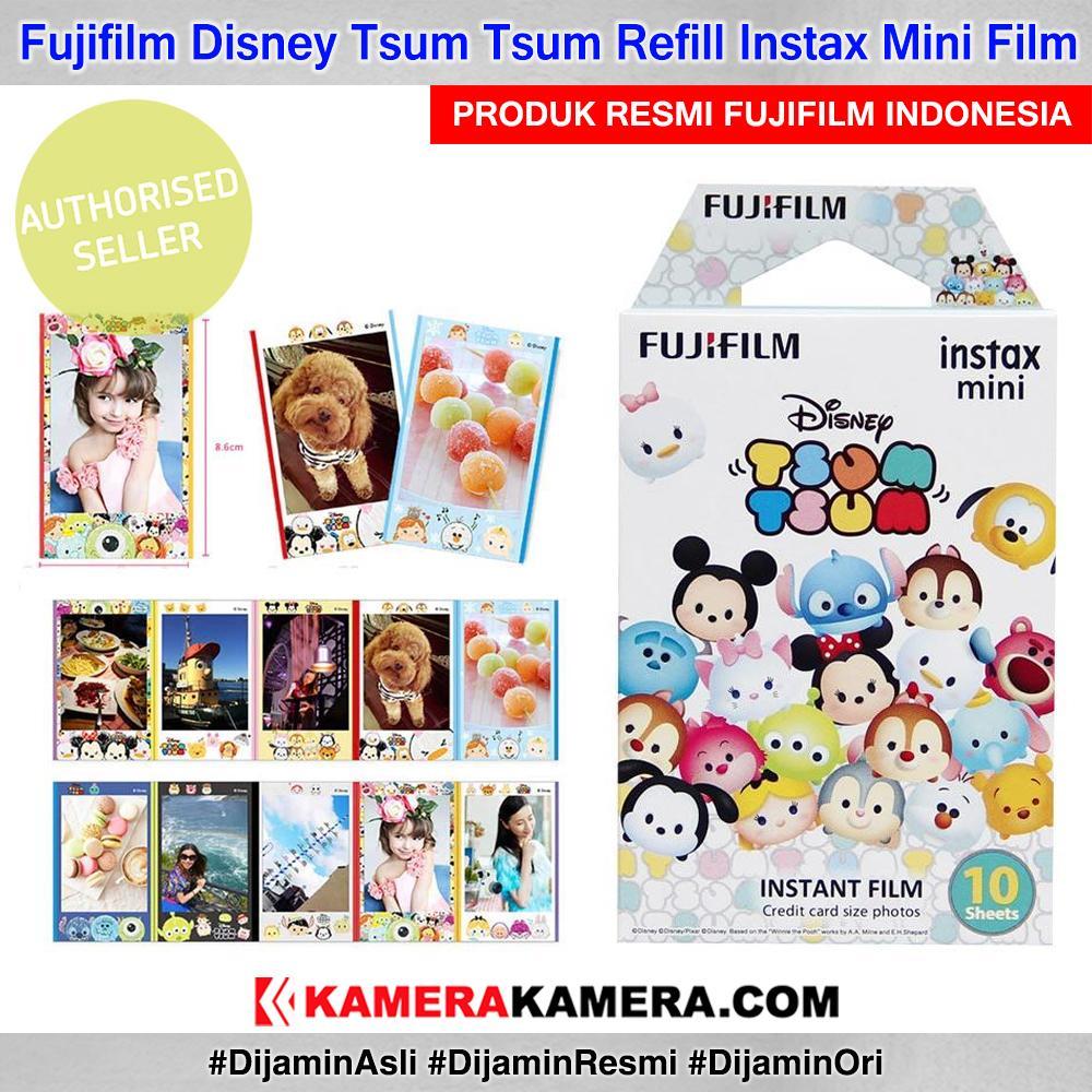 Fujifilm Instax Paper Tsum Tsum Disney Character Film 10 Sheet Original By Kamerakamera.