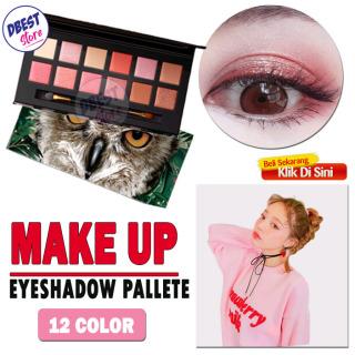Images 12 Colors Animal Eyeshadow Palette Glamorous Smokey Easy to Wear Perona Mata MakeUp Mata Natural ADS Eyeshadow thumbnail