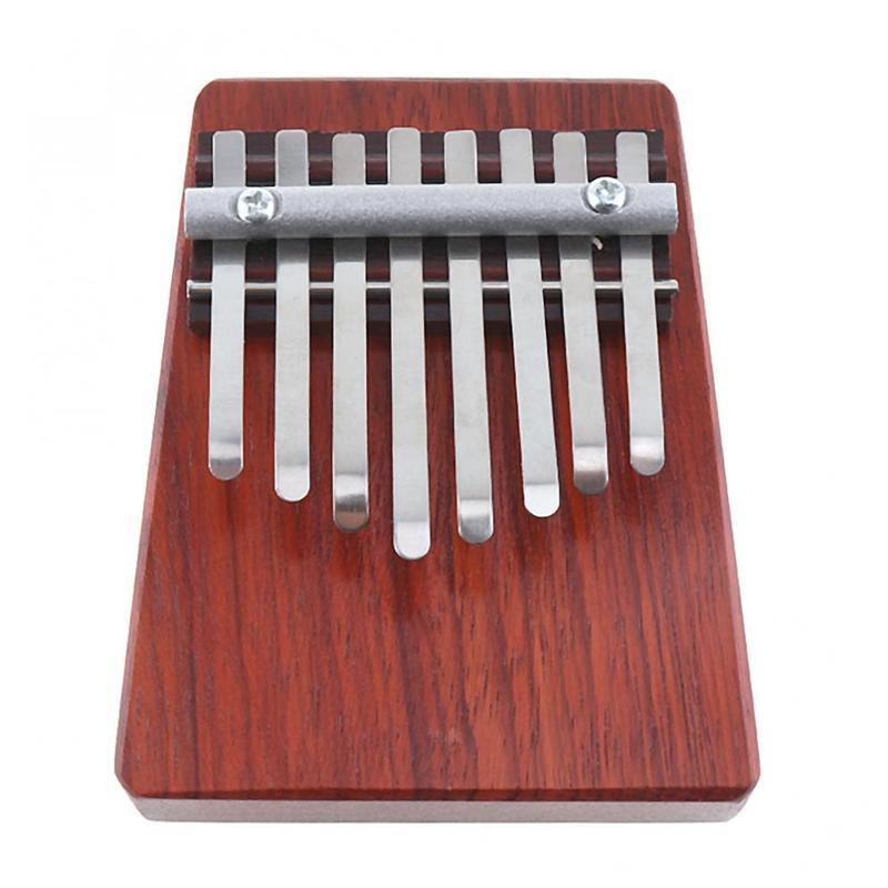 8 Keys Mini Finger Piano Kalimba Thumb Traditional African Music Instrucments Malaysia