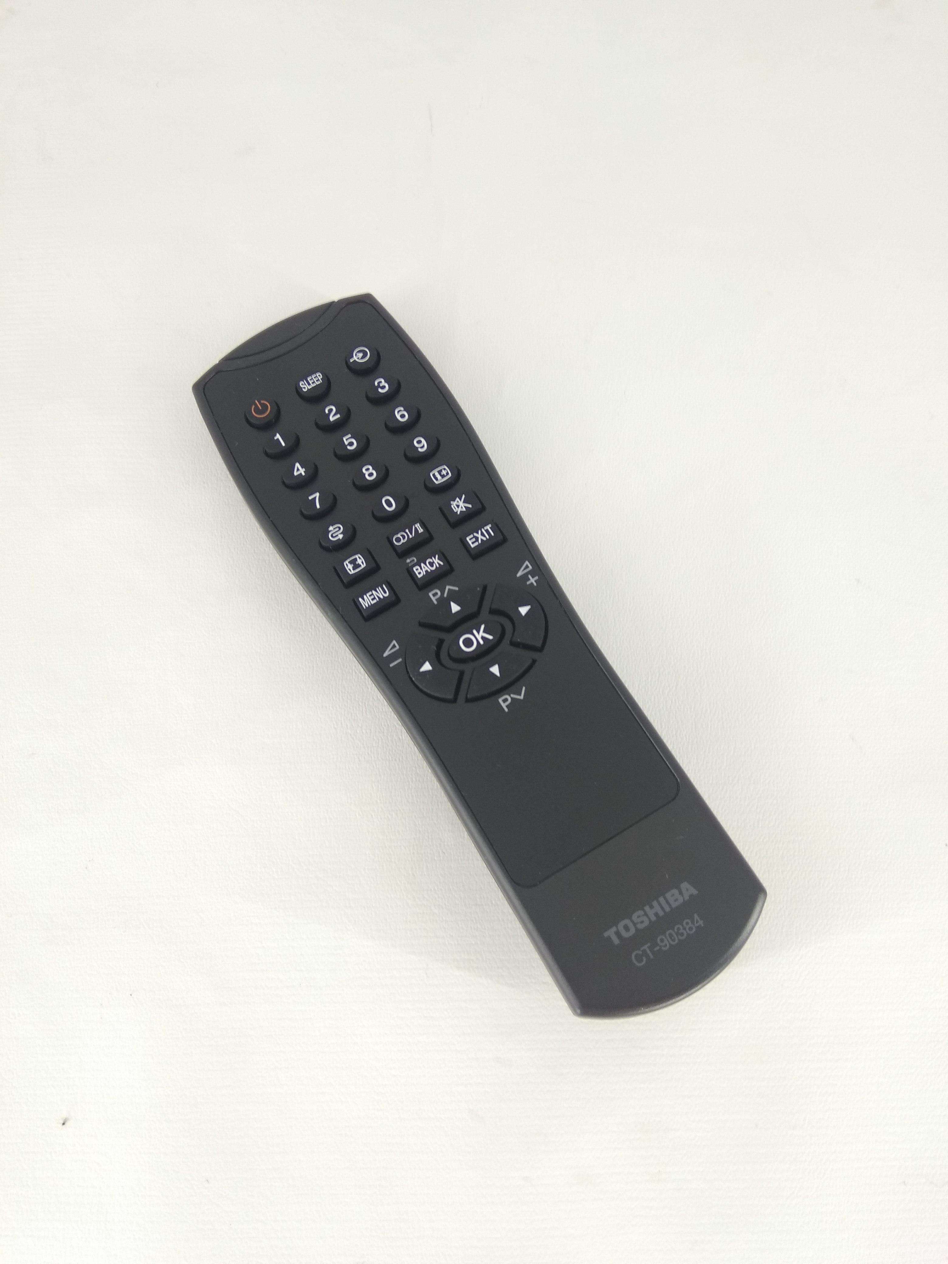Remot Remote TV Toshiba Regza LCD / LED CT-90384 Ori / Original Toshiba Power TV 19HV15E