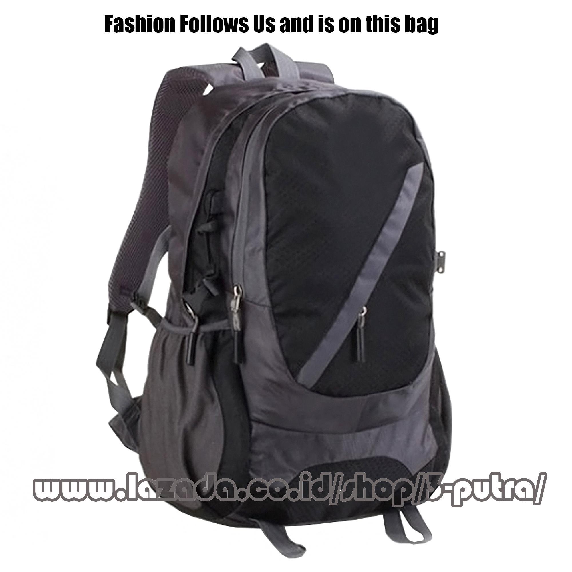 Tas Ransel Import Tas Punggung Backpack Traveling Backpack Import Tas Laptop Tas sekolah - 3P New