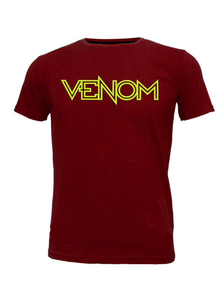 Fashion Kaos Pria T-Shirt Combed 30s Lengan Pendek LP 19 Marun