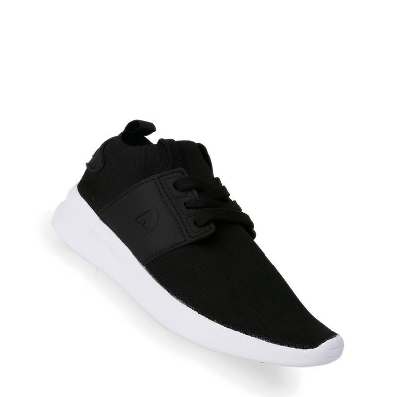 Airwalk - Kaleb Sepatu Sneakers Wanita - Hitam aa78ff54db