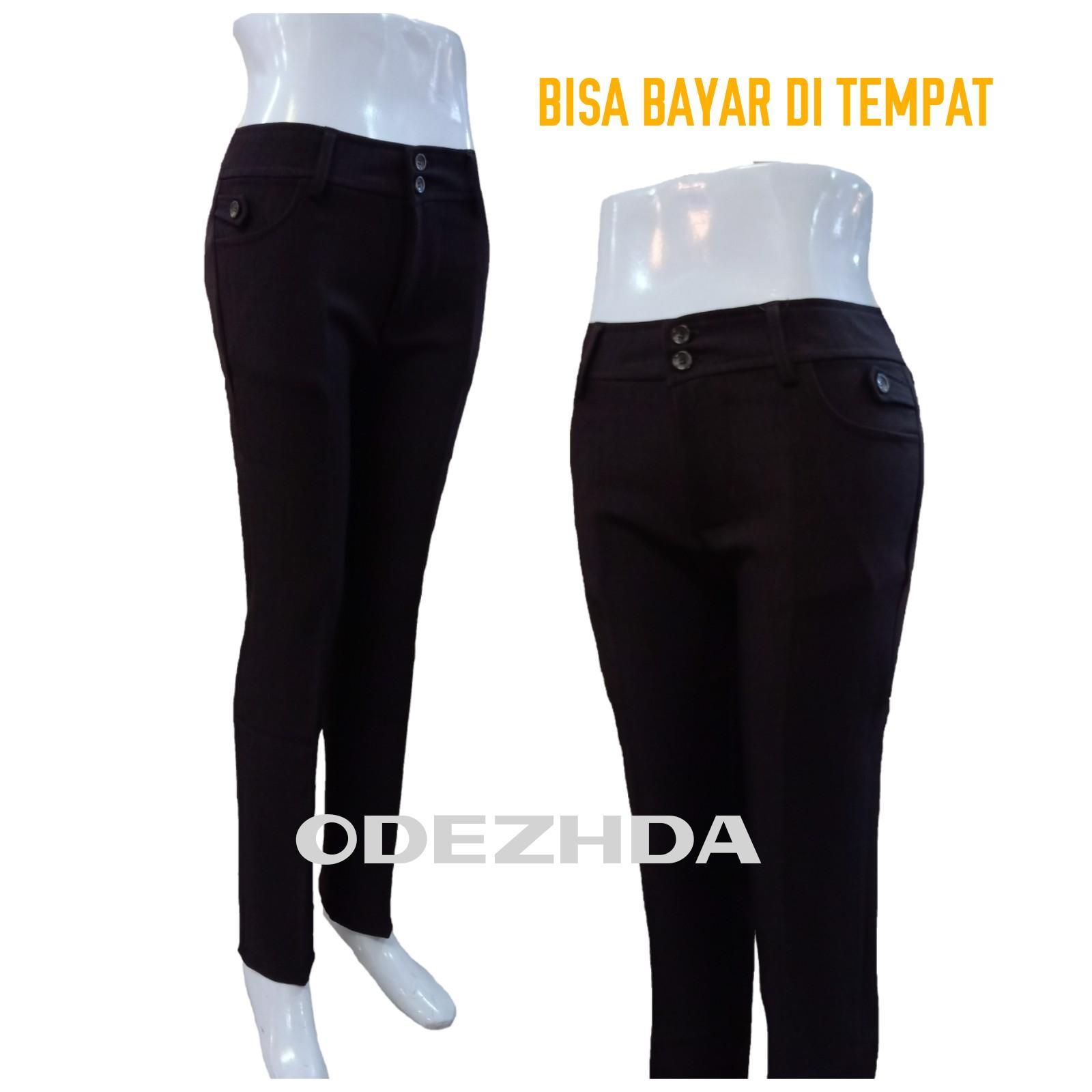 BUSANA INDONESIA celana kantor wanita/celana kerja wanita/celana bahan wanita/celana panjang wanita/celana casual wanita/celana chino wanita