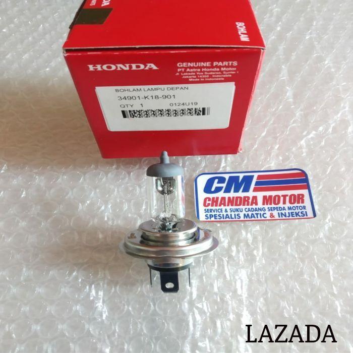 Lampu bolp bohlam depan verza  old cb150R  new cbr150R lokal  scoopy esp 34901-K18-901 original HONDA AHM -