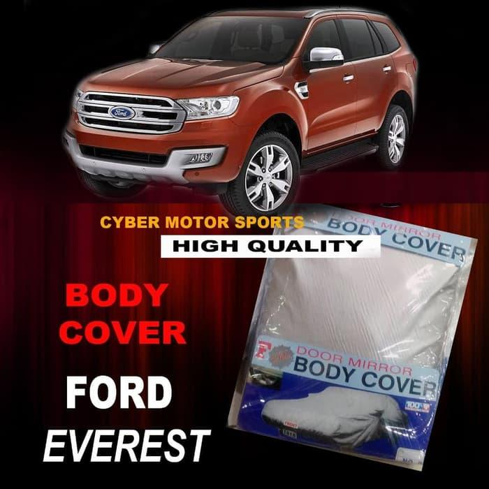 Body Cover Ford Everest. Sarung Mobil Everest. Selimut Mobil F new