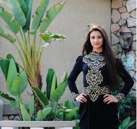 BARANG EKSIS - Jesica Maxi Dress Black Edition Gamis Kaftan Modern - Hitam