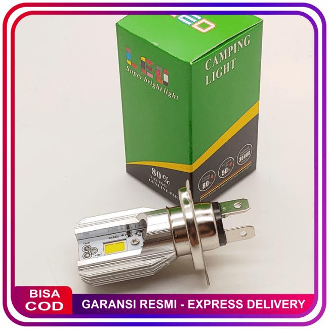 COD!! DISKON!!Lampu Depan LED Vixion Cb150R Scoopy Fi Dll New Model H4 || Lampu Motor || LMtrDB3