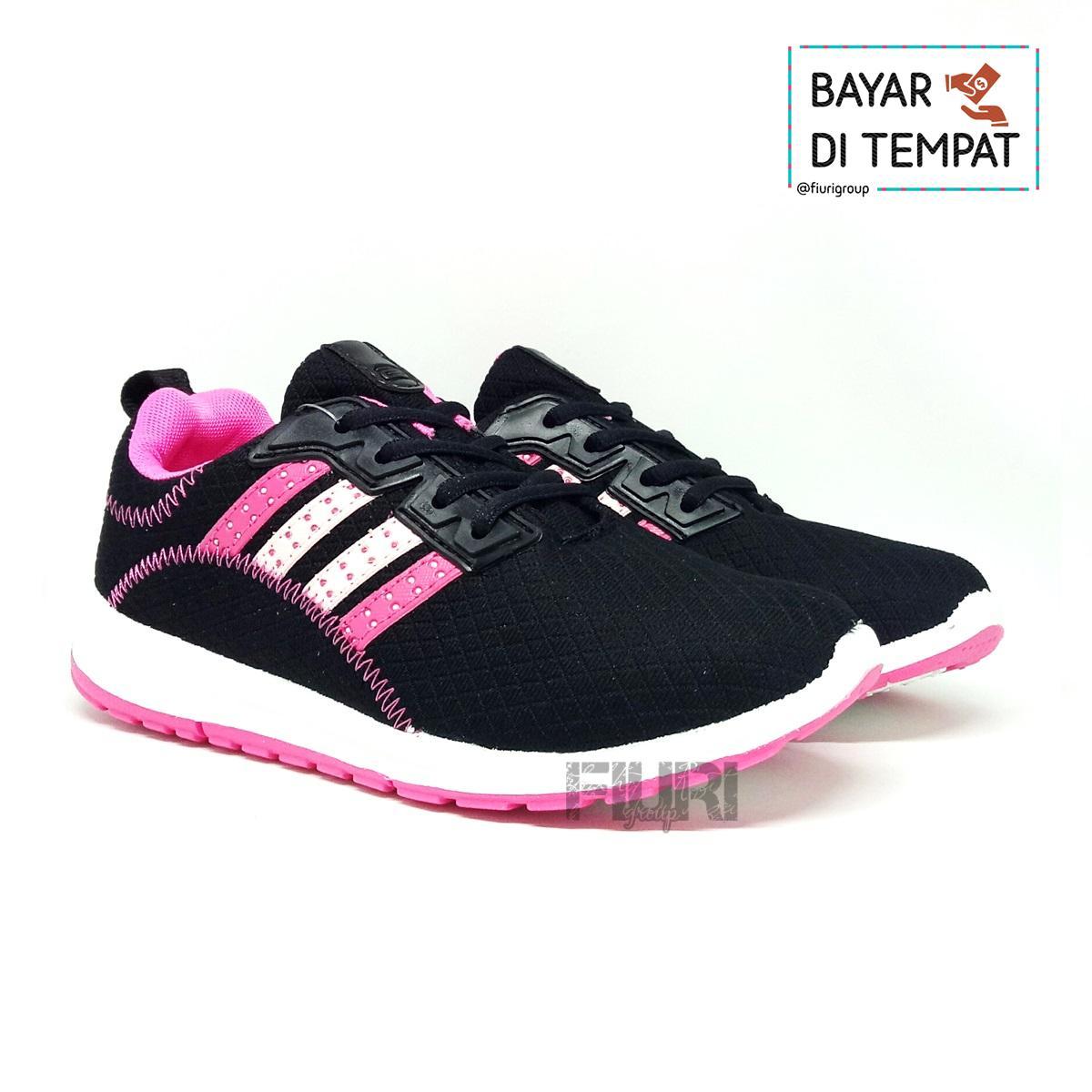 FIURI - Ando Original - Plano Black Pink - Sepatu Olahraga Sneakers Sport -  Sepatu Ando c48814f126