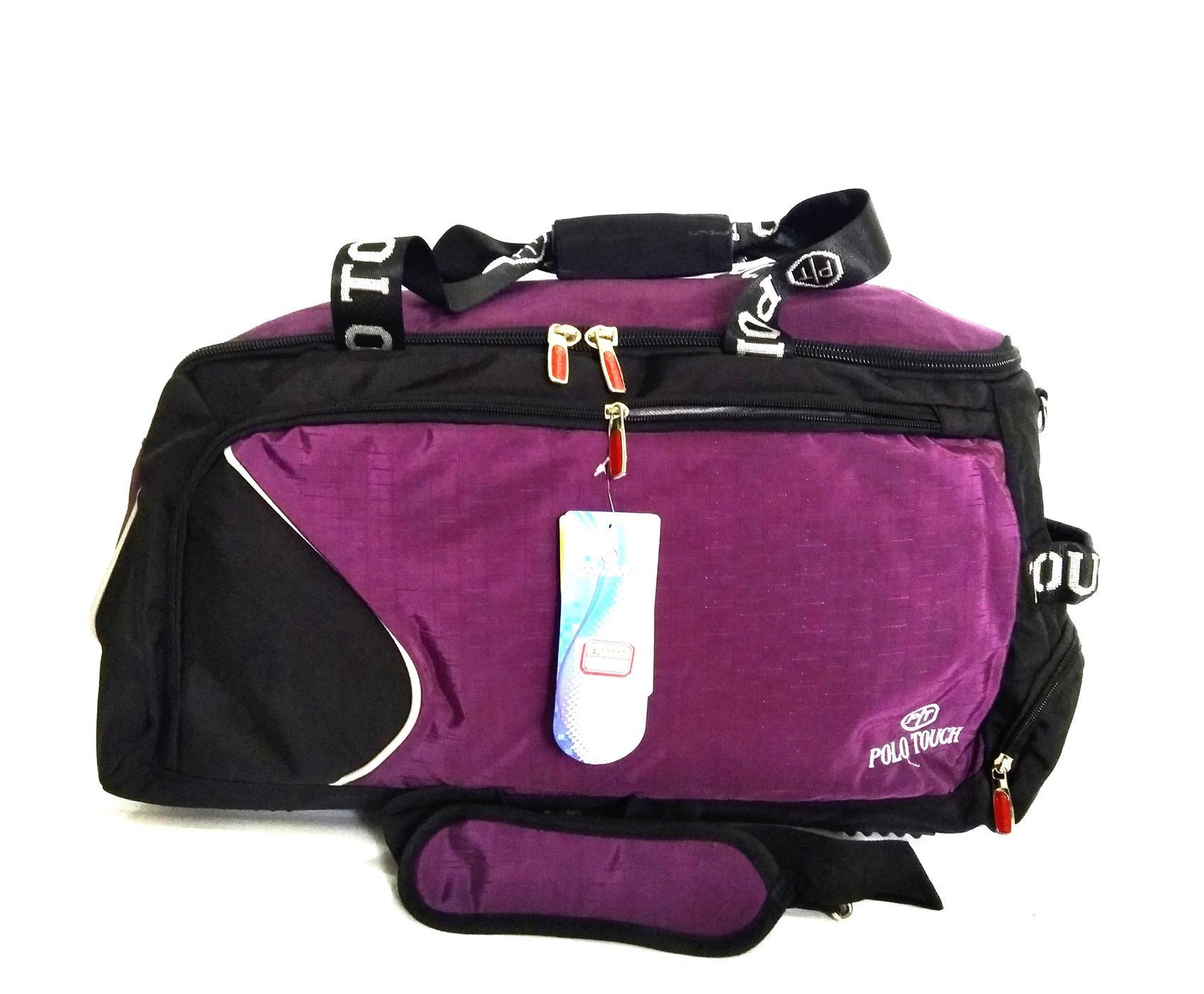 Tas Olahraga Futsal Gym Travel Bag Jumbo Polo Touch Ada Slot Sepatu By Tendakaki5.