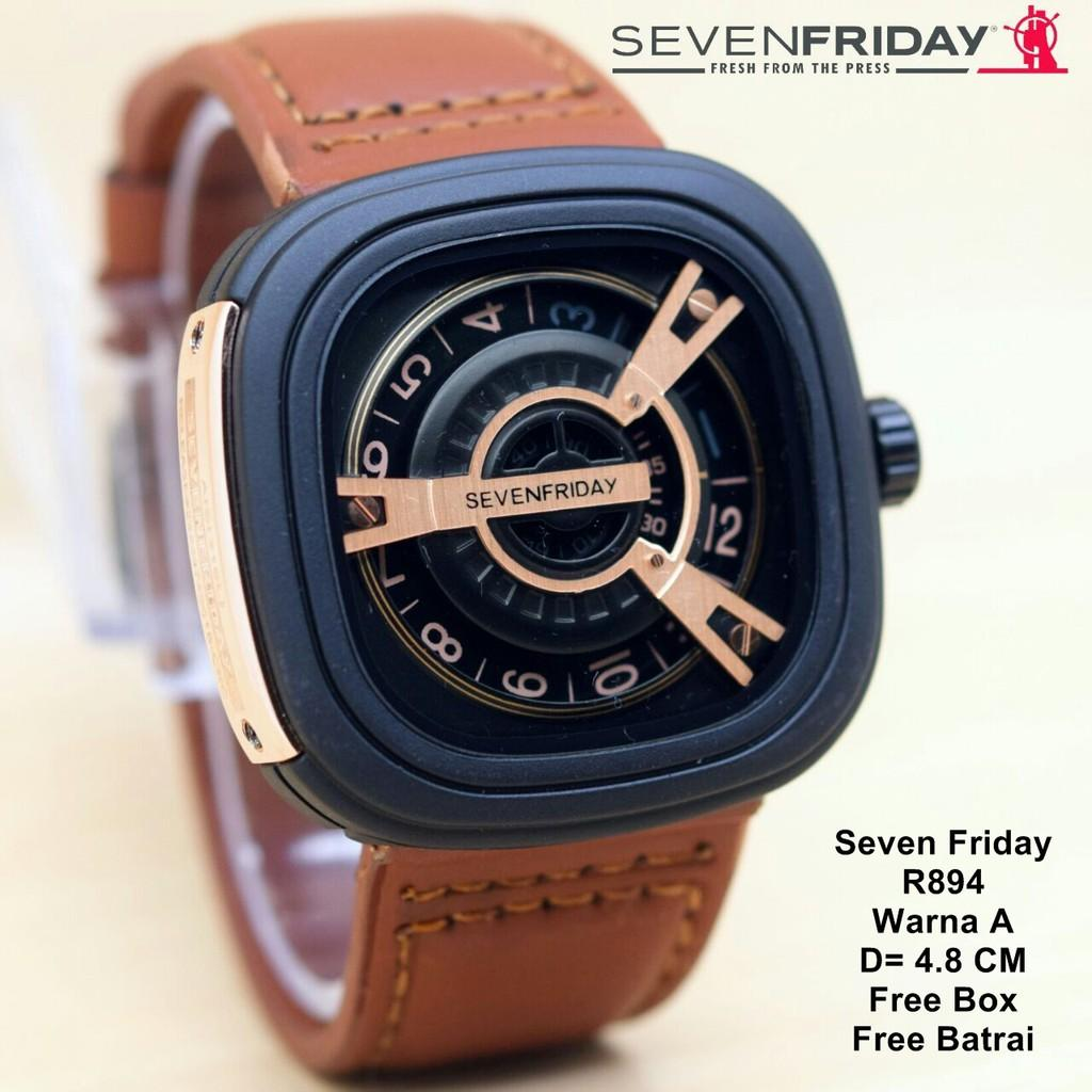 Jam Tangan Fashion Pria Seven-Friday Casual Exclusive Limited Edition