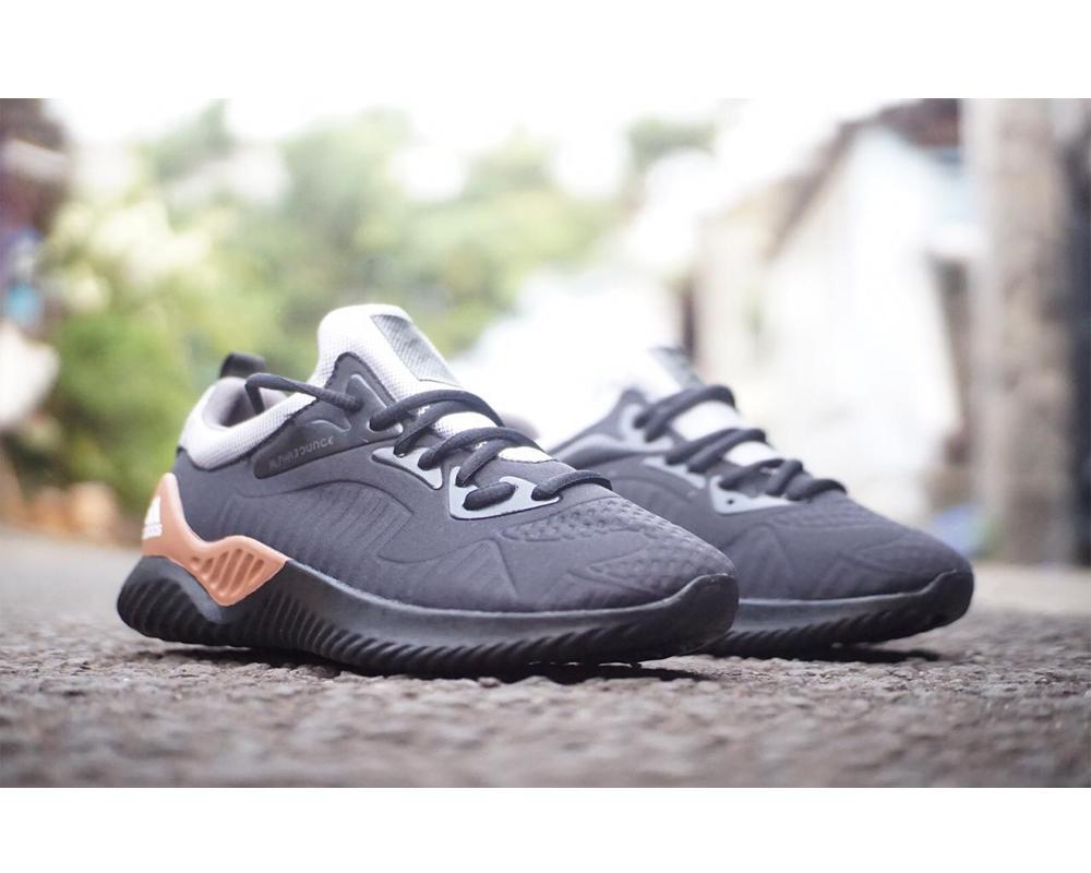 Sepatu Sneakers Pria Running New Alphabounce Beyond Warna Hitam  Coklaat(Bisa Bayar Ditempat) 805d37877a