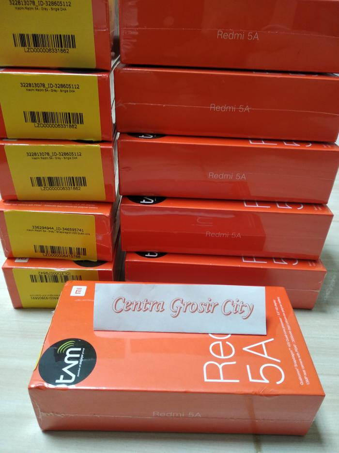 XIAOMI REDMI 5A RAM 2GB/16GB MIUI 9 GLOBAL GARANSI RESMI TAM 1 THN ANTI REPACKING