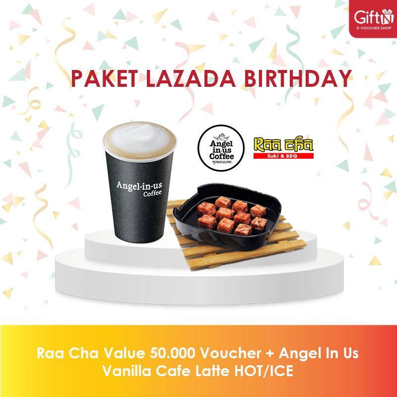 Lazada Birthday 3 By Giftn.