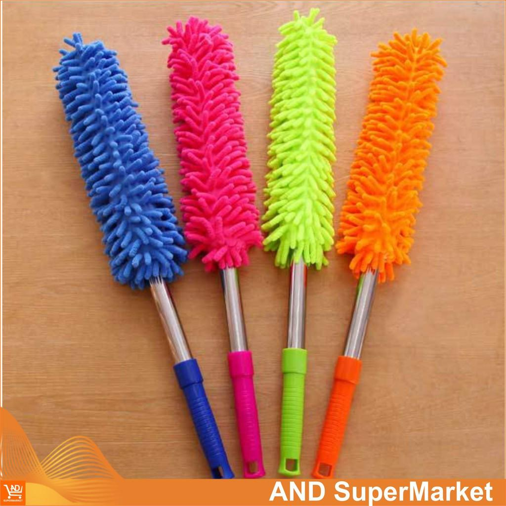 Kemoceng Tarik Microfiber 60cm - 100cm - Sulak Debu Kain Cendol - Kemucing Panjang By And Supermarket.