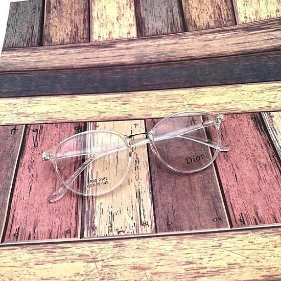 Kacamata DR2168-H75P145L46 Bahan Resin Unisex Lensa Clear Frame Clear Bisa  Tambah Resep - Dan d0d7e519a6