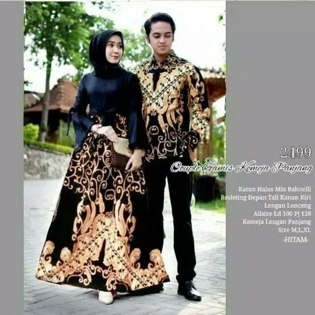 TERMURAH - Batik Couple - Baju Muslim Wanita Terbaru 2018 - Couple Batik - Baju  Batik 2930b804e0