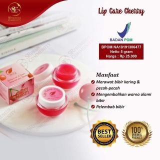 LIPCARE CHERRY SR12 perawatan bibir pecah-pecah serum bibir herbal pemerah bibir permanen thumbnail