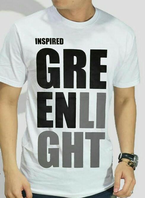 Radja Style - Kaos Unisex Lengan Pendek Inspired Greenlight