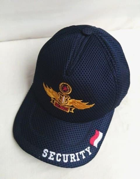 TERLARIS !! Topi security Wing