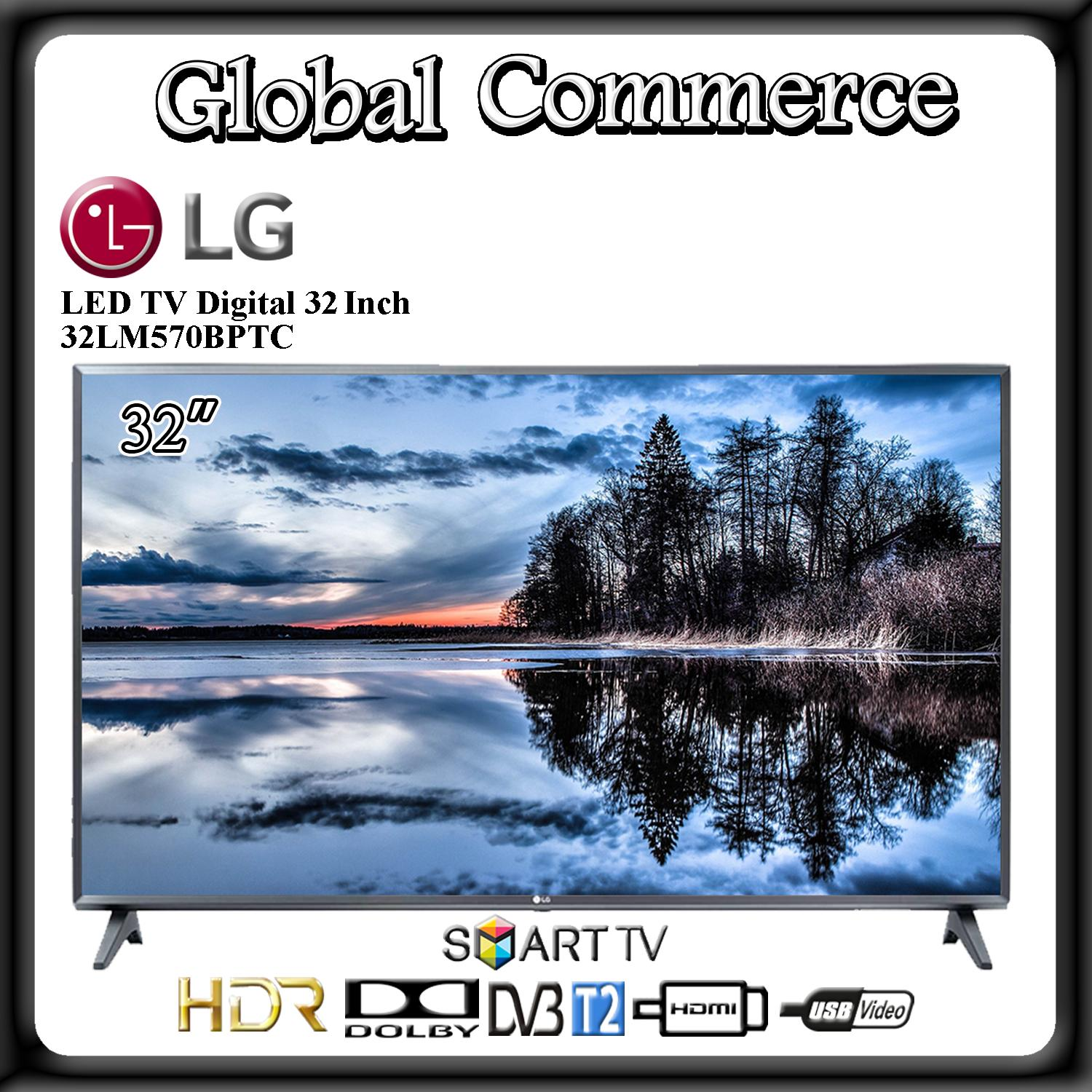 LG 32LM570BPTC Smart TV LED 32 Inch HDMI USB Movie 2019