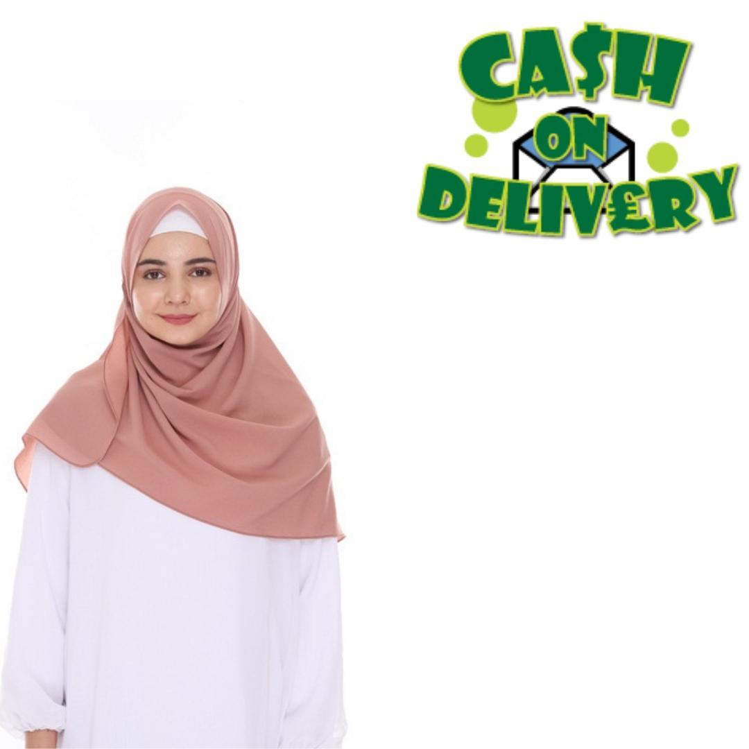 Jilbab / Hijab Pashmina Instan Zafina - Kerudung Pasmina Instant - Hijab Terbaru 2019 - Setelan muslim