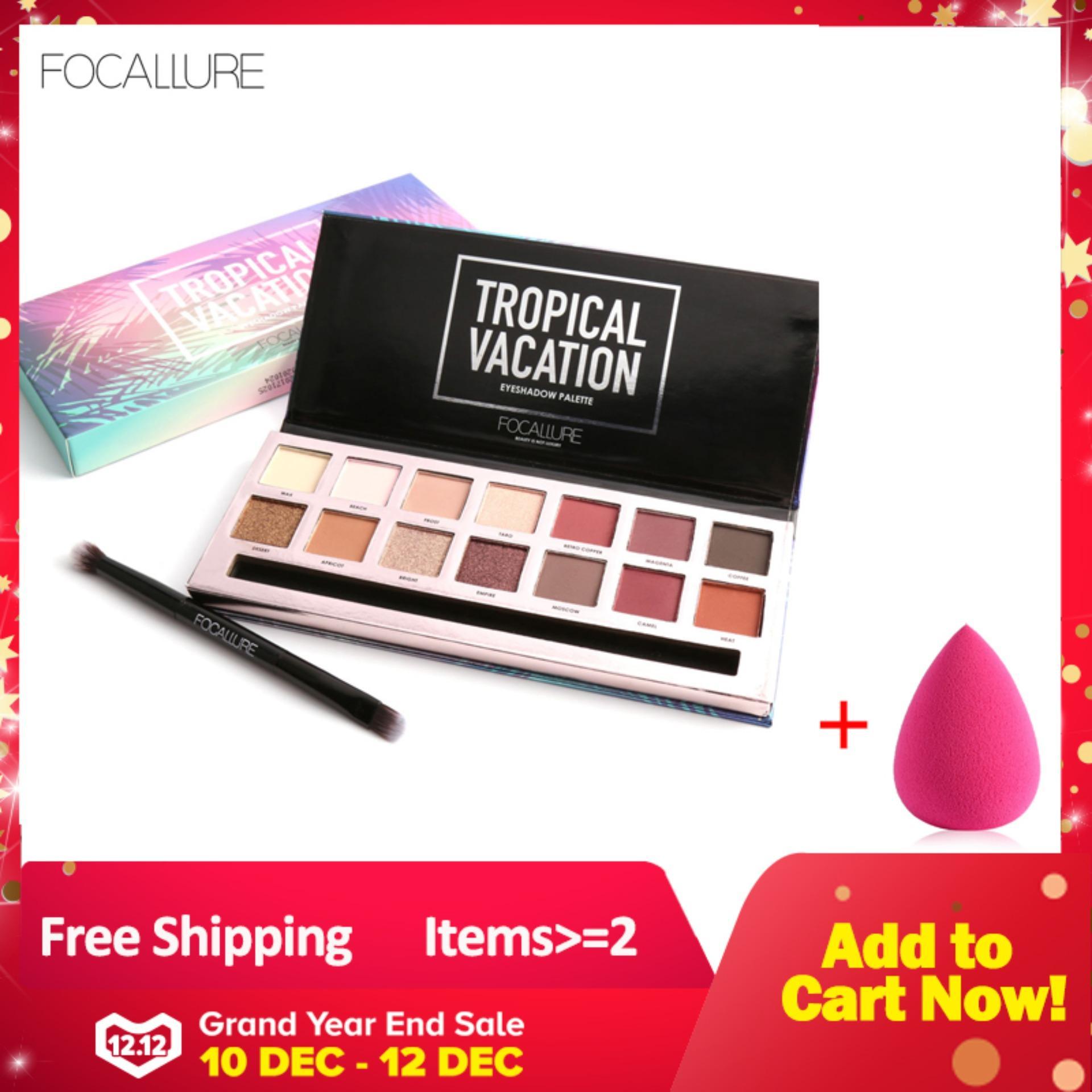 【Free Gift】Women Waterproof 14 Warna Eyeshadow Palet Matte Eye Shadow Makeup Alat Kecantikan