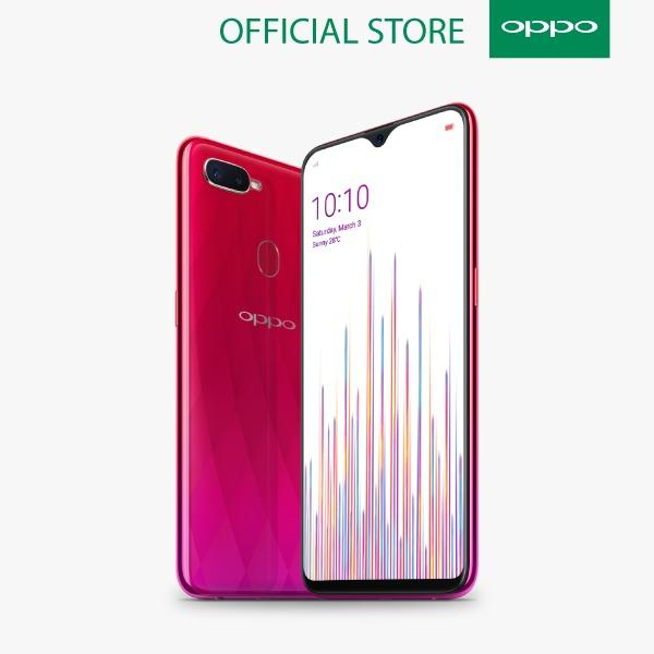 OPPO F9 Smartphone - Red [64GB/ 4GB]