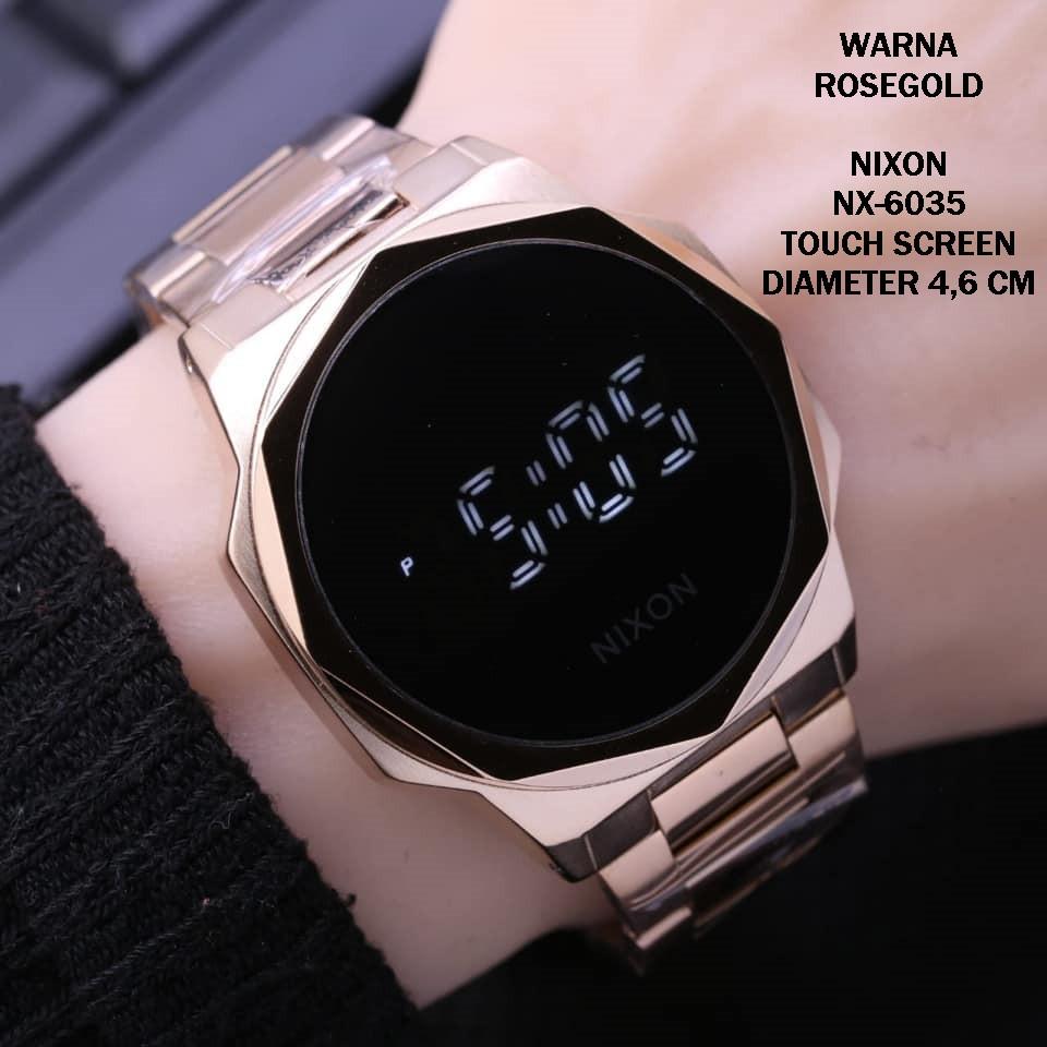 GROSIR JAM TANGAN SPORT ORIGINAL PRIA COWOK  jam tangan pria NX6035 NIXON ANTI AIR ALARM