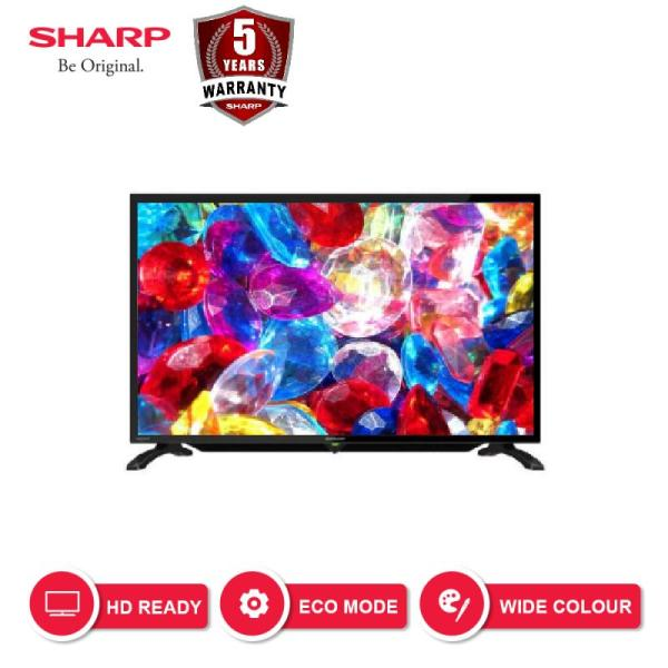 SHARP LED TV 32 Inch HD - 2T-C32BA1i - Black garansi resmi