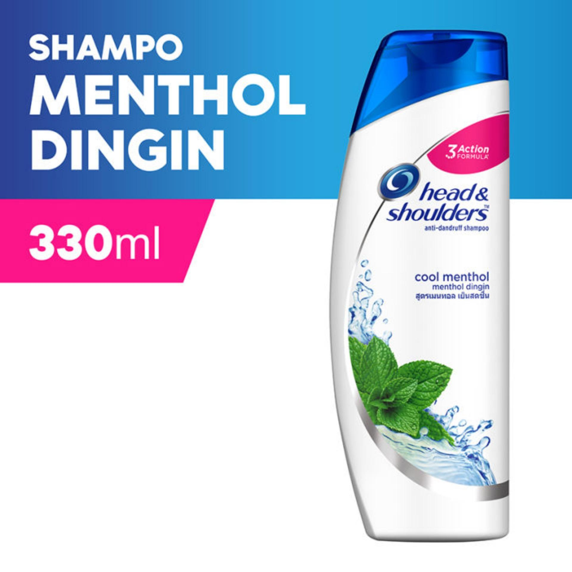 Head & Shoulder Sampo Cool Menthol 330 Ml By Toko Anugerah Rianto.