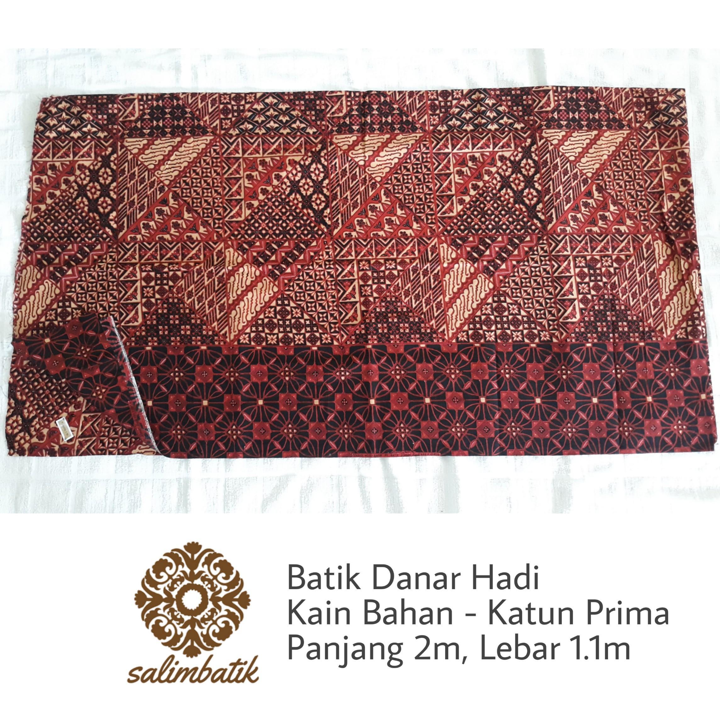 2 Meter Kain Bahan Batik Danar Hadi Solo Motif 1537