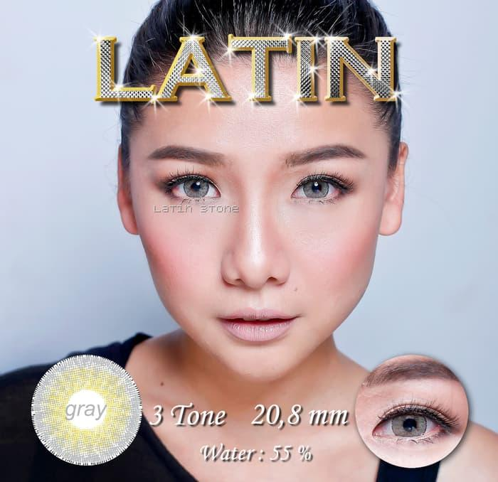 BEST SELLER ORIGINAL Softlens Latin 3 Tones Best Gray (Abu-abu) - BOMaGWlf