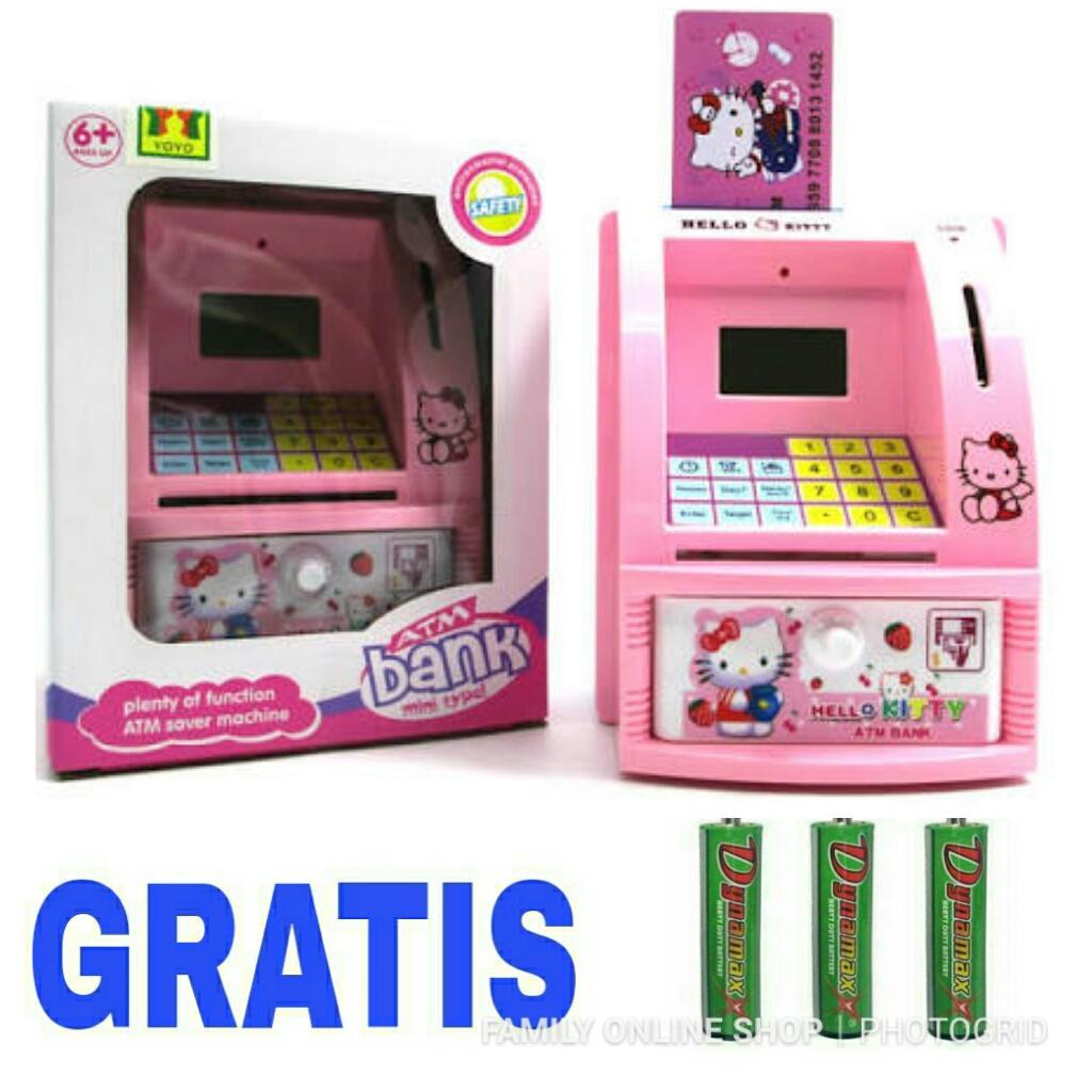 Family Celengan ATM Hellokitty d6fff6aa78