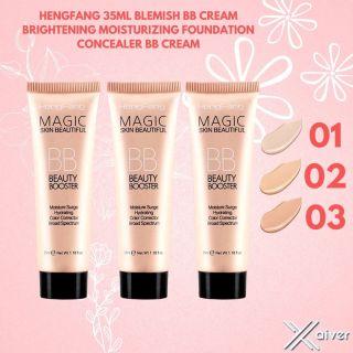 HengFang 35ml Blemish BB Cream Brightening Moisturizing Foundation Concealer BB Cream - Xaiver thumbnail