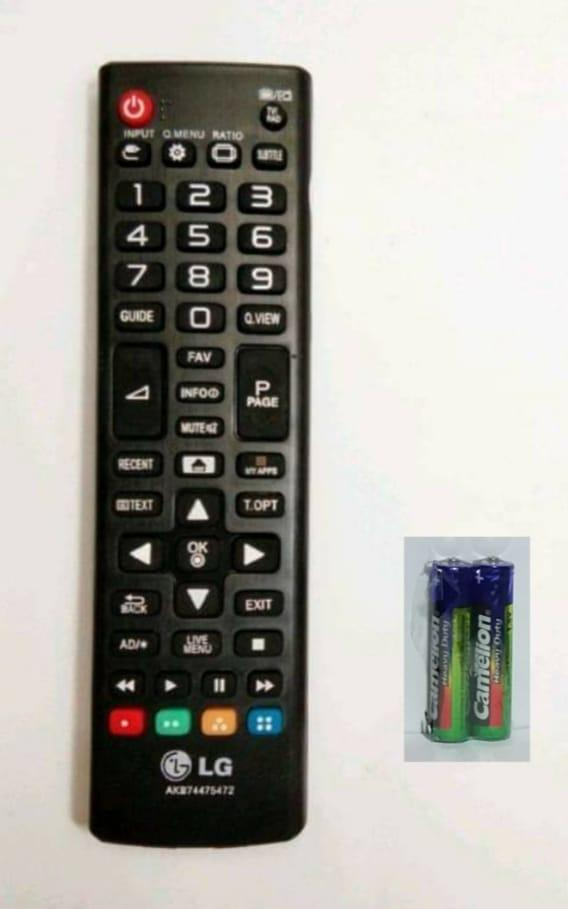 LG Remote TV LED/LCD SMART AKB74475472 - Hitam