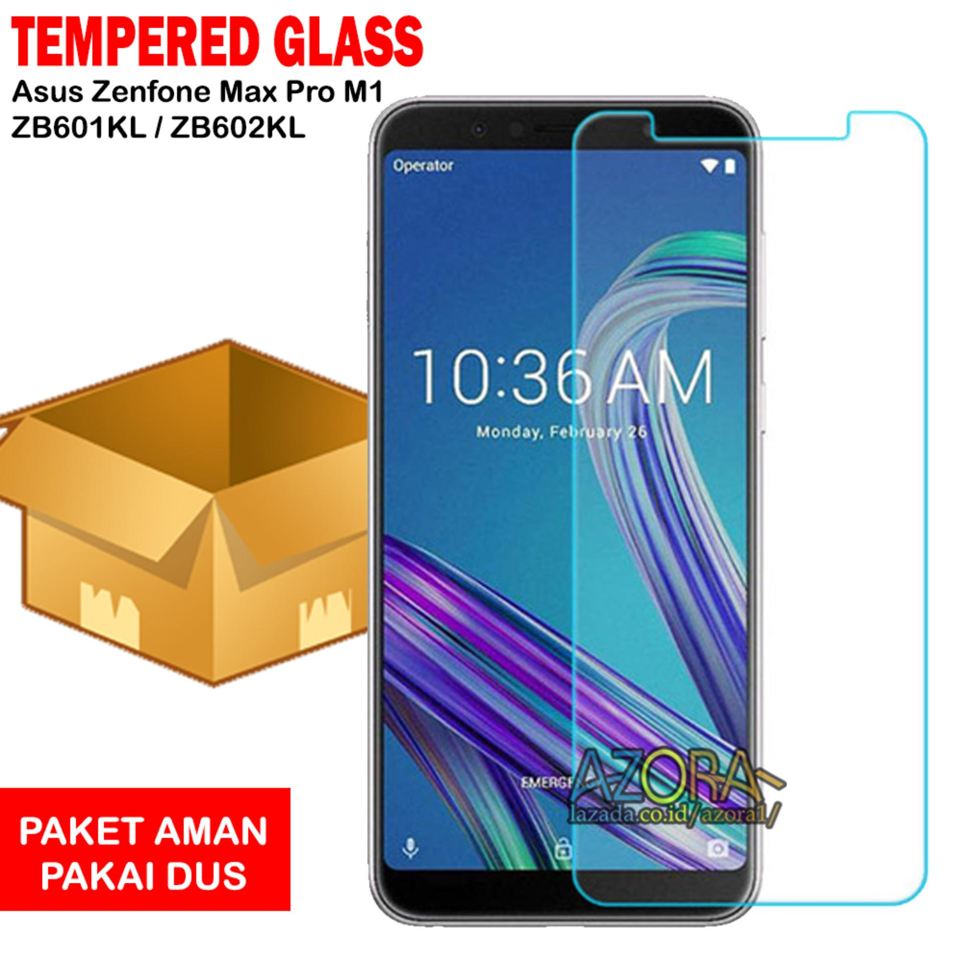 Tempered Glass Asus Zenfone Max Pro M1 ZB601KL / ZB602KL Screen Protector Pelindung Layar Kaca Anti