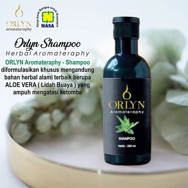 Shampo Anti Uban Kutu Ketombe Terlaris Orlyn Shampo Penghilang Uban Original 100 Nasa Lazada Indonesia
