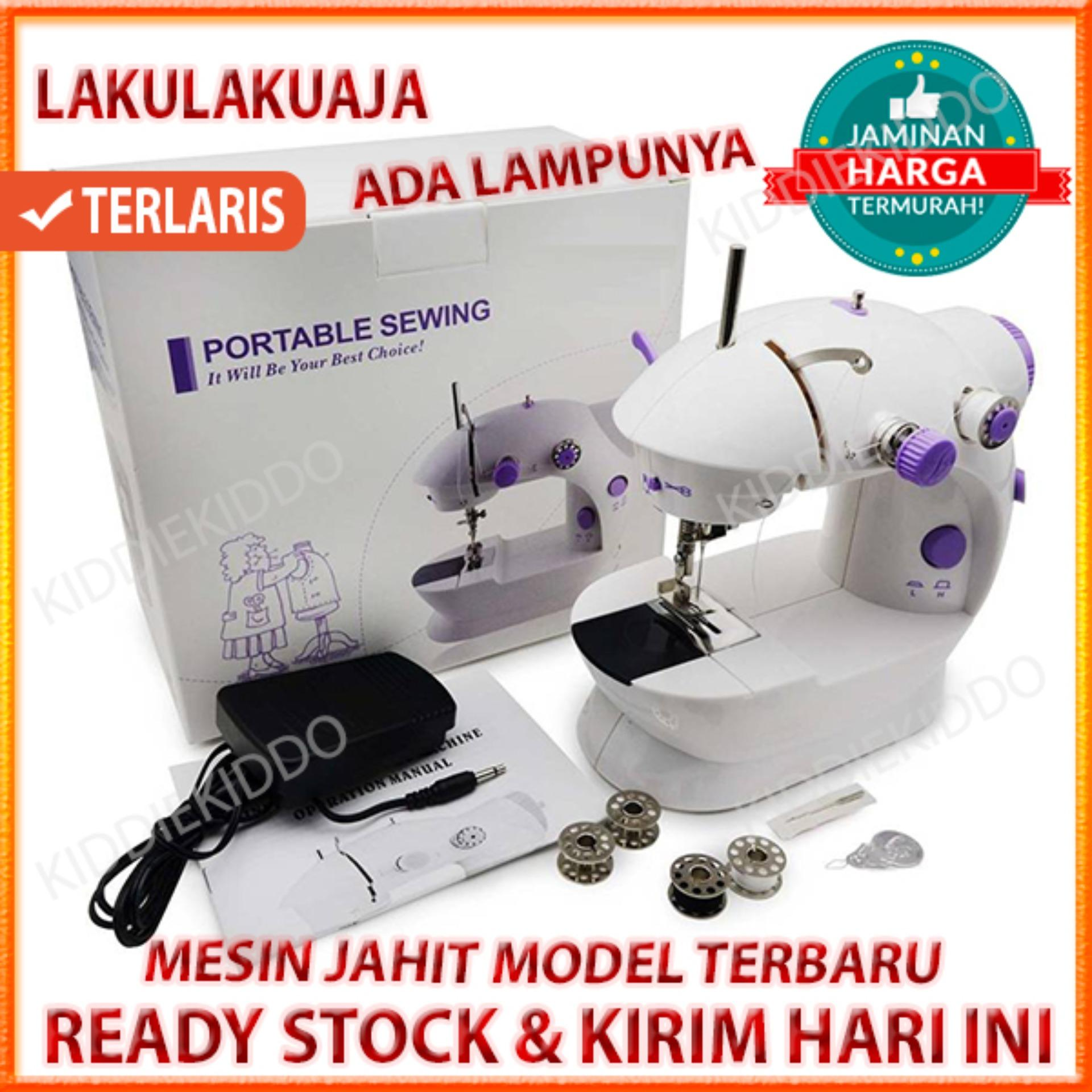 FULL SET MESIN JAHIT MINI PORTABLE   MINI SEWING MACHINE 00ad51840f