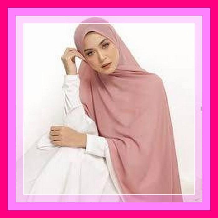 Kerudung Bergo Hijab Pasmina Crinkle warna terlengkap / jilbab Pashmina Crinkle warna terlengkap / Hijab Pasmina sabyan CERUTY COD