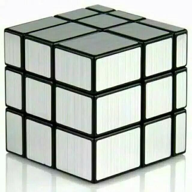 Mainan Rubik Mirror 3x3 YongJun Magic Cube 3x3x3