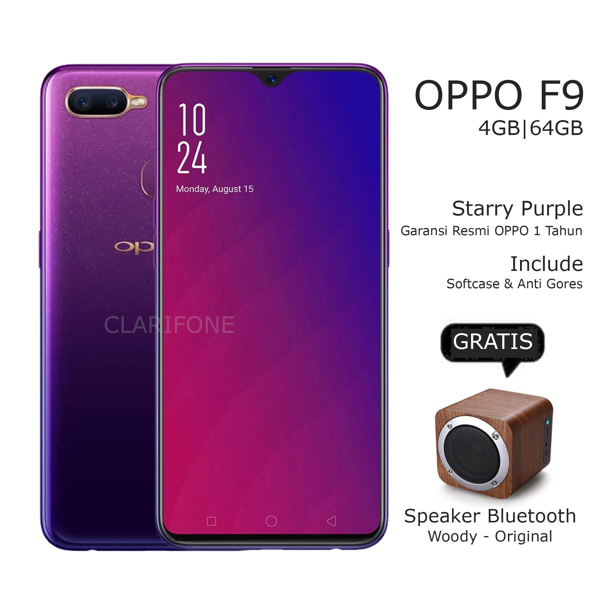OPPO A3S [2/16GB] + Free 6 Item Accessories OPPO F9 - RAM