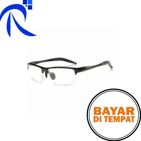 Rimas COD Kacamata Komputer Anti Radiasi UV - Black   Hitam - Eyeglasses  Computer No Radiation 3010cb5be5