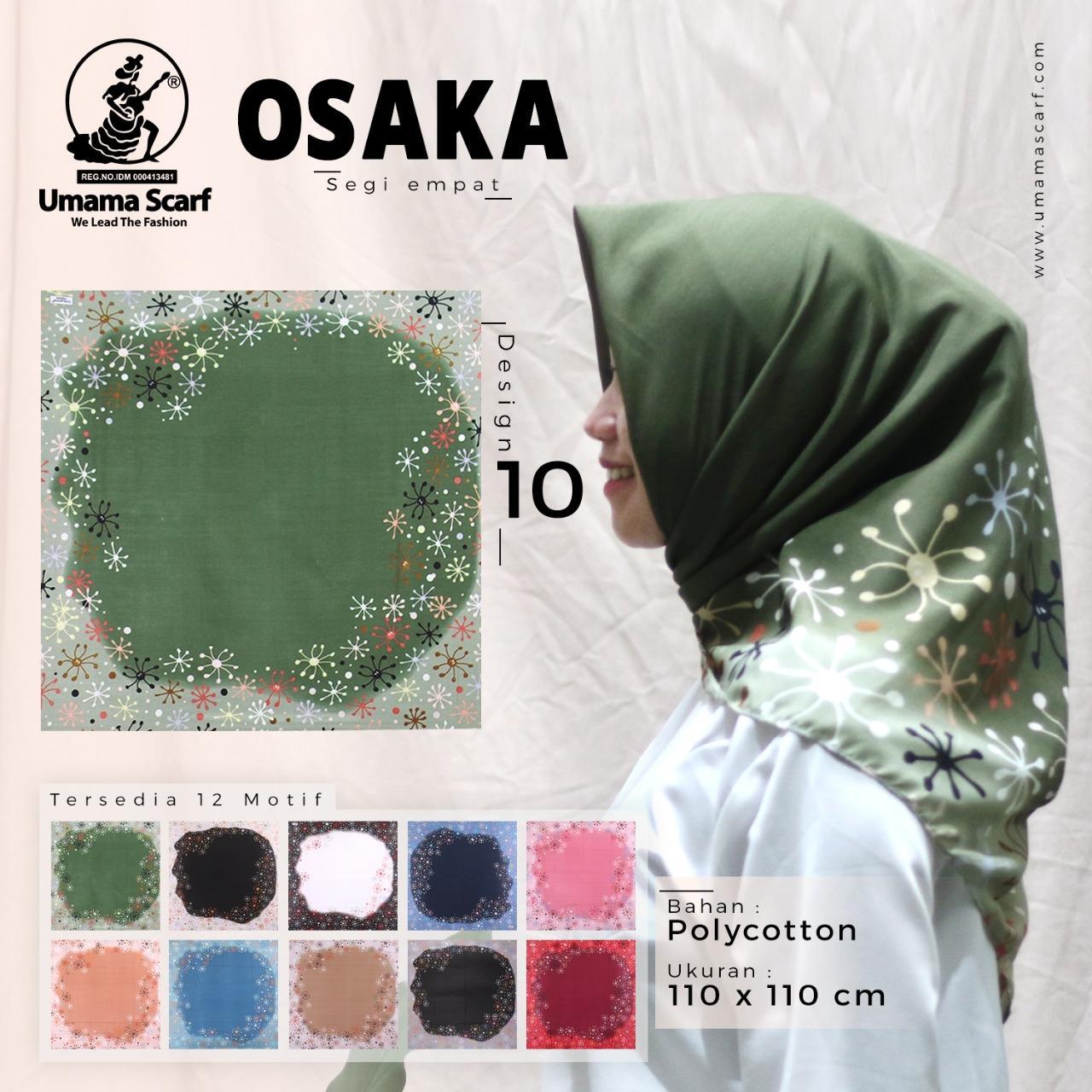 Promo!!! hijab segi empat Osaka polycotton terbaru, termurah