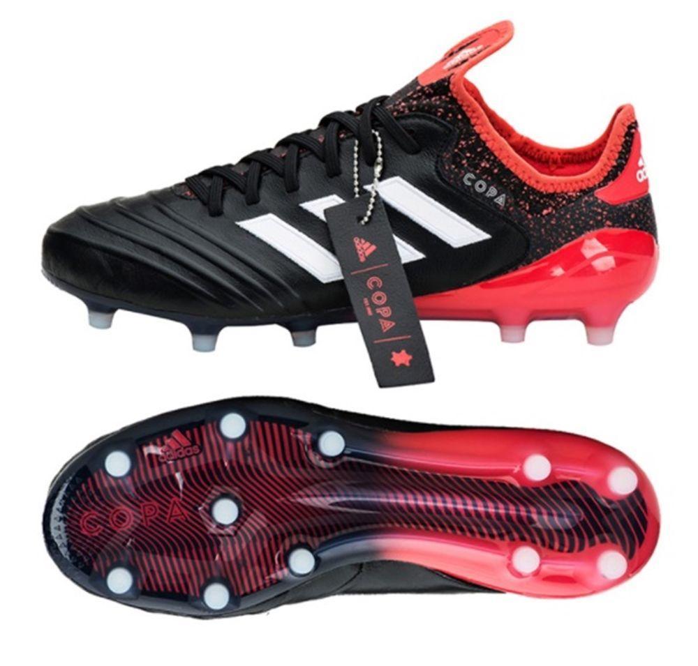 Sepatu Bola Adidas Original Copa 18 . 1 FG Hitam Merah c54fe52932